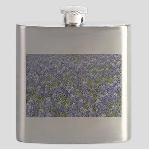 Field of Texas Bluebonnets Flask