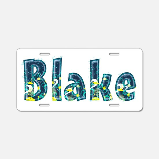 Blake Under Sea Aluminum License Plate