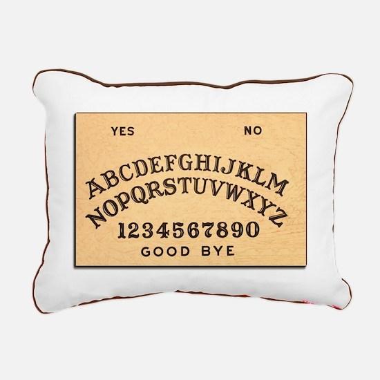 Ouija Board Rectangular Canvas Pillow