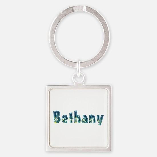 Bethany Under Sea Square Keychain