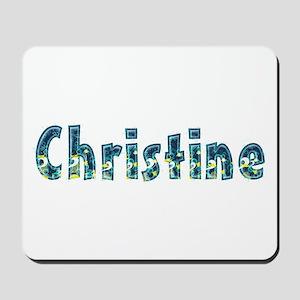 Christine Under Sea Mousepad