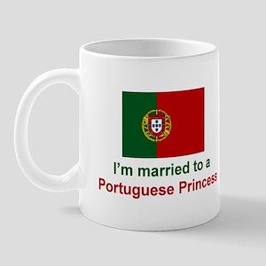 Married To A Portuguese Princess Mug