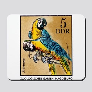1975 Germany Zoo Macaw Parrot Postage Stamp Mousep