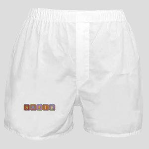 Sadie Foam Squares Boxer Shorts