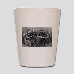 The Lincoln Family - 1867 Shot Glass