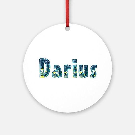 Darius Under Sea Round Ornament