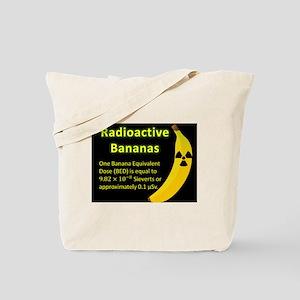 Radioactive Bananas Tote Bag