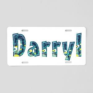 Darryl Under Sea Aluminum License Plate