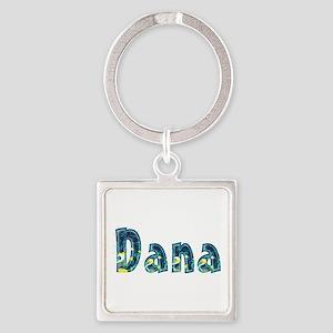 Dana Under Sea Square Keychain