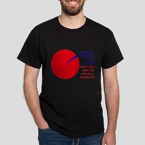 Guns v. Abortion T-Shirt