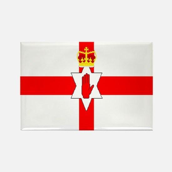Northern Ireland Rectangle Magnet