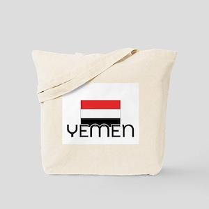 I HEART YEMEN FLAG Tote Bag