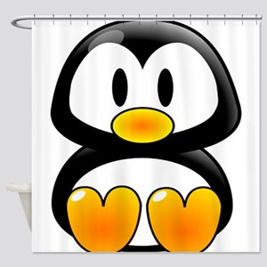 baby Tux Shower Curtain