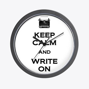 Write On Wall Clock