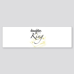 Daughter of a King Bumper Sticker