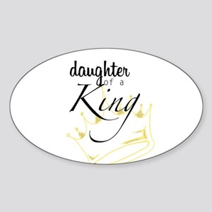 Daughter of a King Sticker