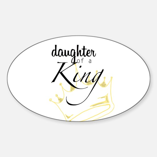 Daughter of a King Decal