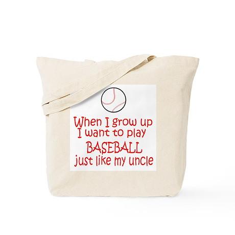 Baseball...just like Uncle Tote Bag