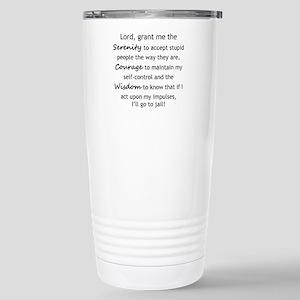 Sarcastic Serenity Prayer 02 Travel Mug