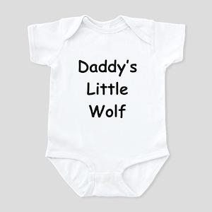 Daddy's Little Wolf Infant Bodysuit