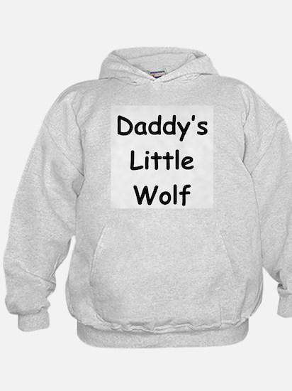 Daddy's Little Wolf Hoodie