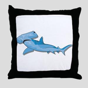 Hammerhead Throw Pillow