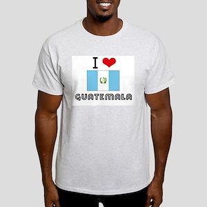 I HEART GUATEMALA FLAG T-Shirt