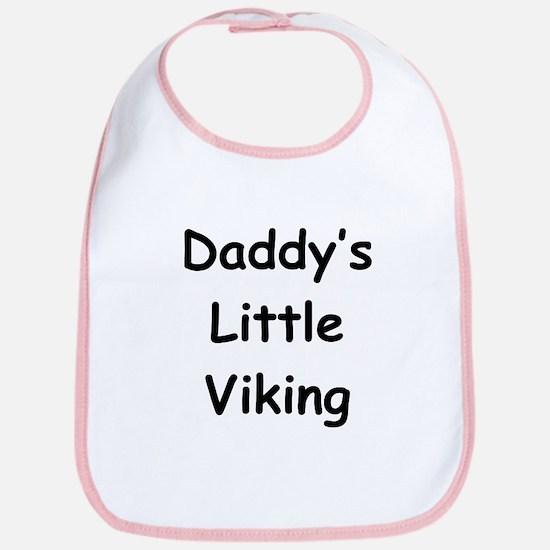 Daddy's Little Viking Bib