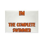 IM the complete swimmer Rectangle Magnet (10 pack)