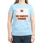 IM the complete swimmer Women's Pink T-Shirt