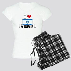 I HEART ISRAEL FLAG Pajamas