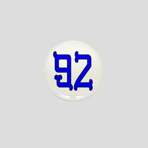 Blue Bones 92 Mini Button
