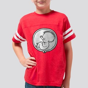 2-womb-punk1-T Youth Football Shirt