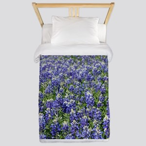 Field of Texas Bluebonnets Twin Duvet Cover