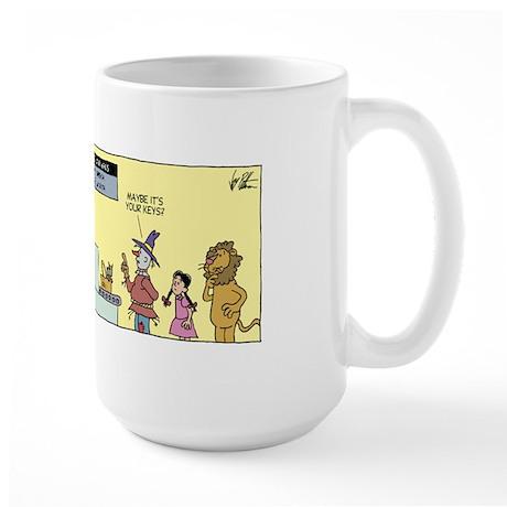 Jaywalking on the Wild Side - Large Mug