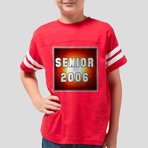 Red Starburst Senior Youth Football Shirt