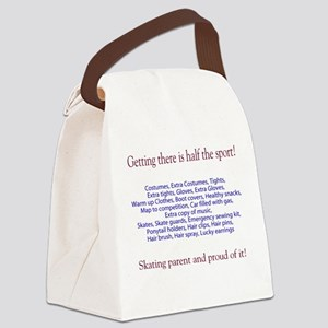 skate parent Canvas Lunch Bag