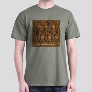 Red Australian Kelpie Dark T-Shirt