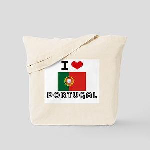 I HEART PORTUGAL FLAG Tote Bag