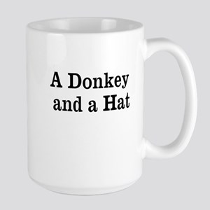 Donkey and Hat Mug