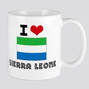I HEART SIERRA LEONE FLAG Mug