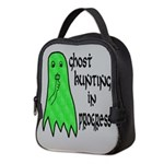 Ghost Hunting In Progress Neoprene Lunch Bag