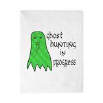 Ghost Hunting In Progress Twin Duvet