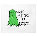 Ghost Hunting In Progress King Duvet