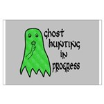 Ghost Hunting In Progress Large Poster