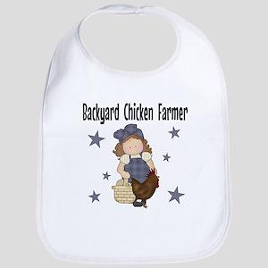 Backyard Chicken Farmer Bib