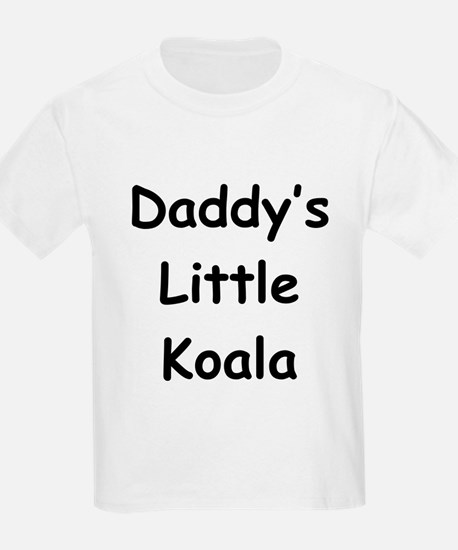 Daddy's Little Koala Kids T-Shirt