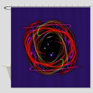 Portal / Starry Void Shower Curtain
