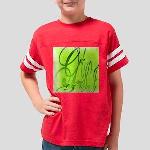 GKIybrickgreenyellowgoldA Youth Football Shirt