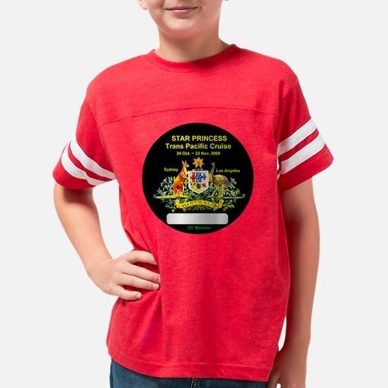 Star Trans Pacific SYD-LA -Na Youth Football Shirt
